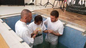 Kurdish baptism